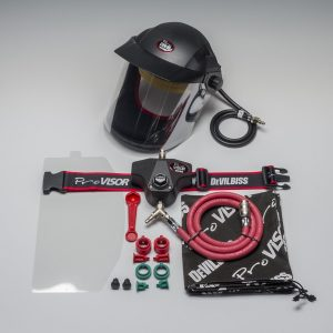 DEVILBISS PROV-650 AIR HOOD & BELT