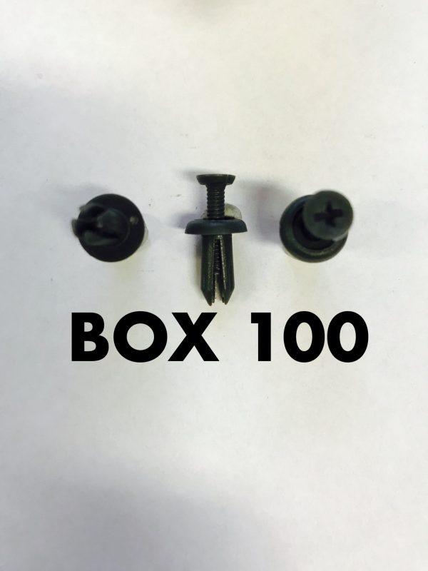 Carclip Box 100 11445 Small Scrivets