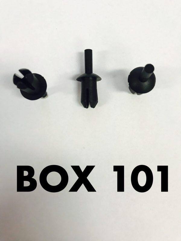 Carclips Box 101 10883 Large Pin Clip