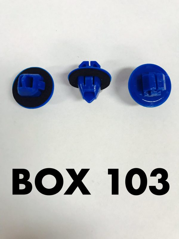 Carclips Box 103 10227 Flare Clips