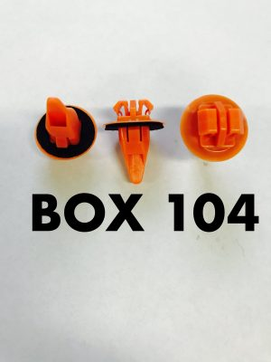 Carclips Box 104 10228 Flare Clips