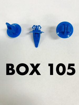 Carclips Box 105 10689 Flare Clips