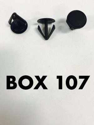 Carclips Box 107 10077 Trim Clips