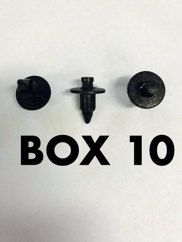 Carclips Box 10 10564 Pin Clip