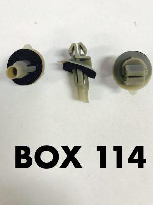 Carclips Box 114 10806 Flare Clip
