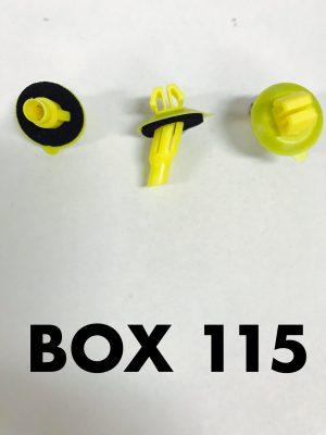 Carclips Box 115 10807 Flare Clip