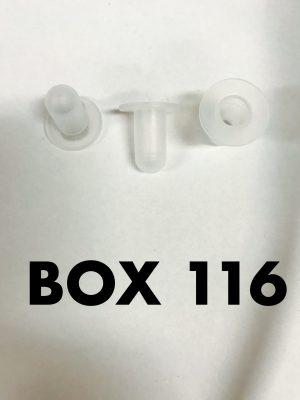 Carclips Box 116 10980 Tube Nut