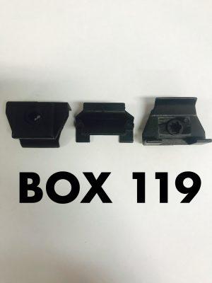 Carclips Box 119 10898 Toyota Bumper Clip