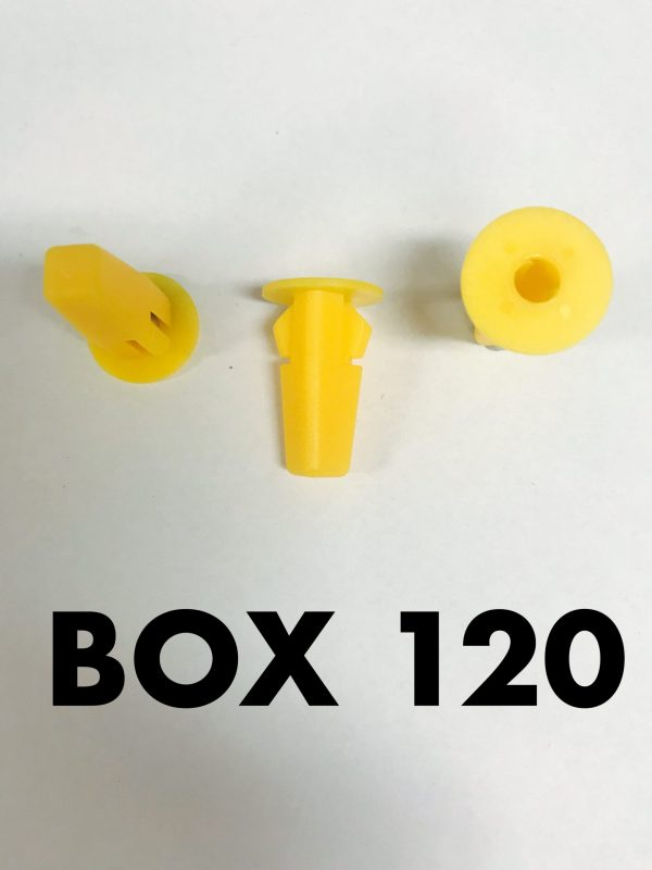 Carclips Box 120 10031 Screw Grommet