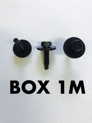 Carclips Box 1M M6 Bolt