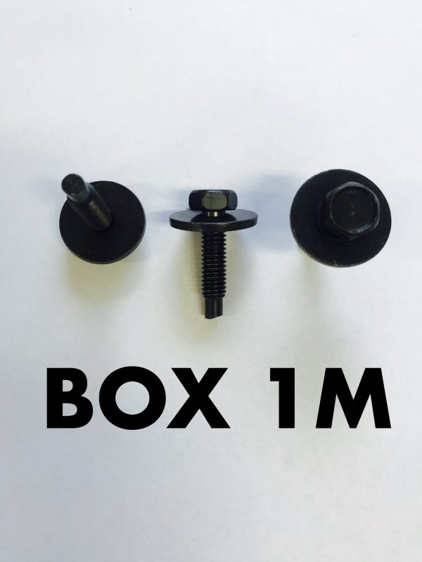 Carclips Box 1M M6 Bolt
