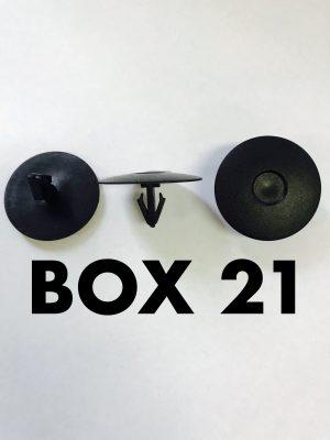 Carclips Box 21 10619 Pad Clip