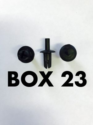 Carclips Box 23 10019 Pin Clip
