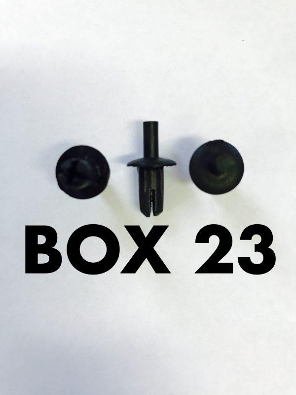 Carclips Box 23 10019 Pin Clip