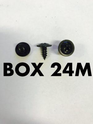 Carclips Box 24M 8g x 10mm Screws