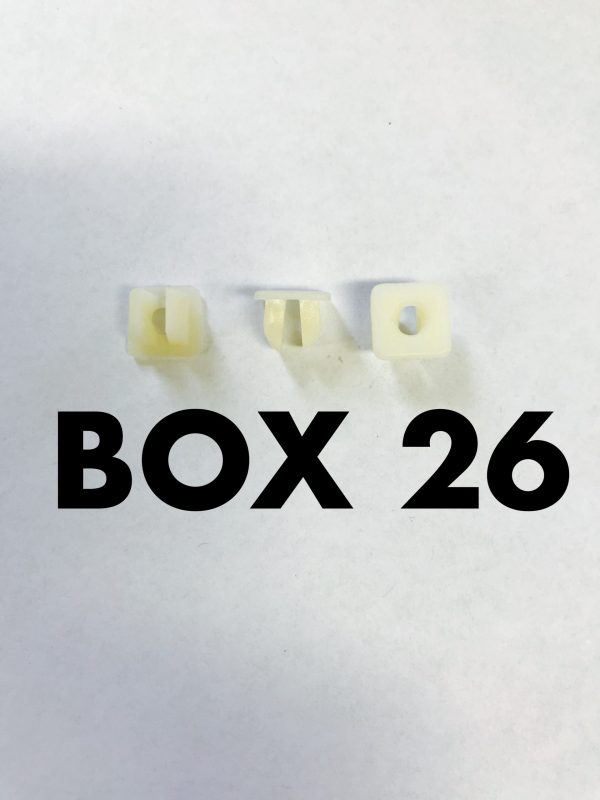 Carclips Box 26 10025 Screw Grommet