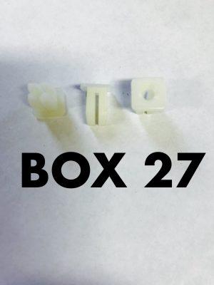 Carclips Box 27 10026 Screw Grommet