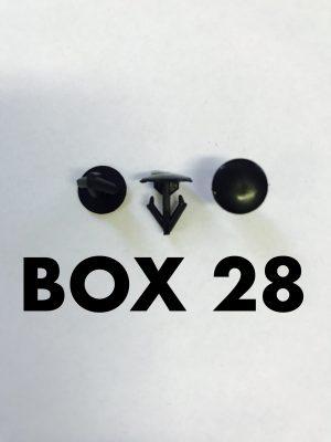 Carclips Box 28 11274 Seal Clip