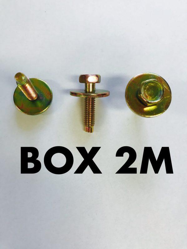 Carclips Box 2M M6 Bolt