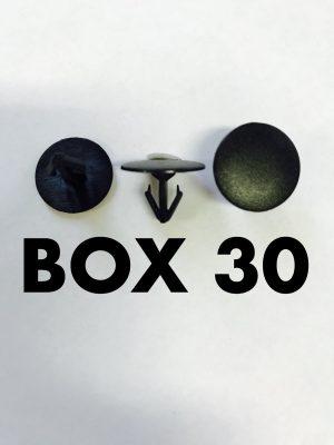Carclips Box 30 10219 Seal Clip