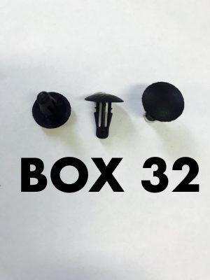 Carclips Box 32 10490
