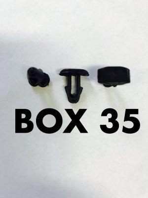 Carclips Box 35 10254