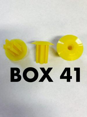 Carclips Box 41 11389 Screw Grommet