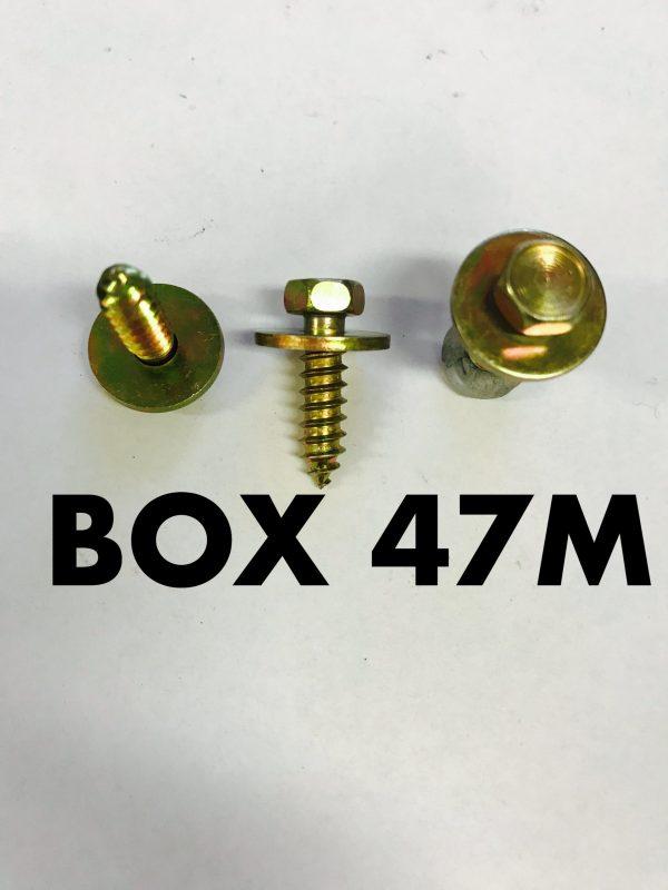 Carclips Box 47M M5 x 3/4 Screw