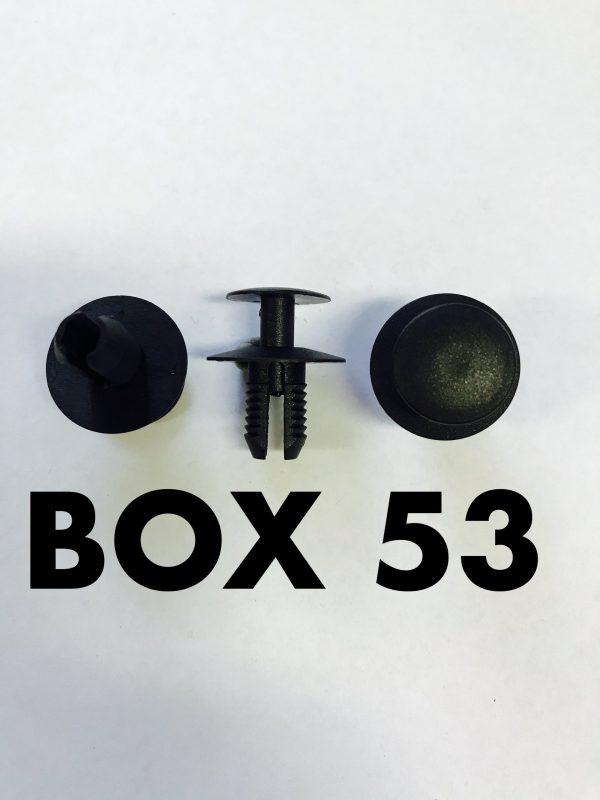 Carclips Box 53 11253 Trim Clips
