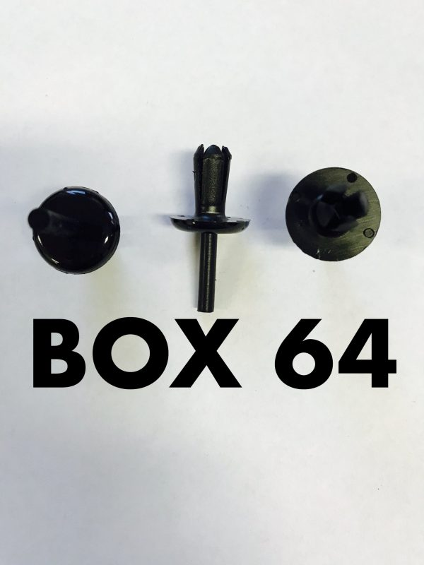 Carclips Box 64 10216 Pin Clip