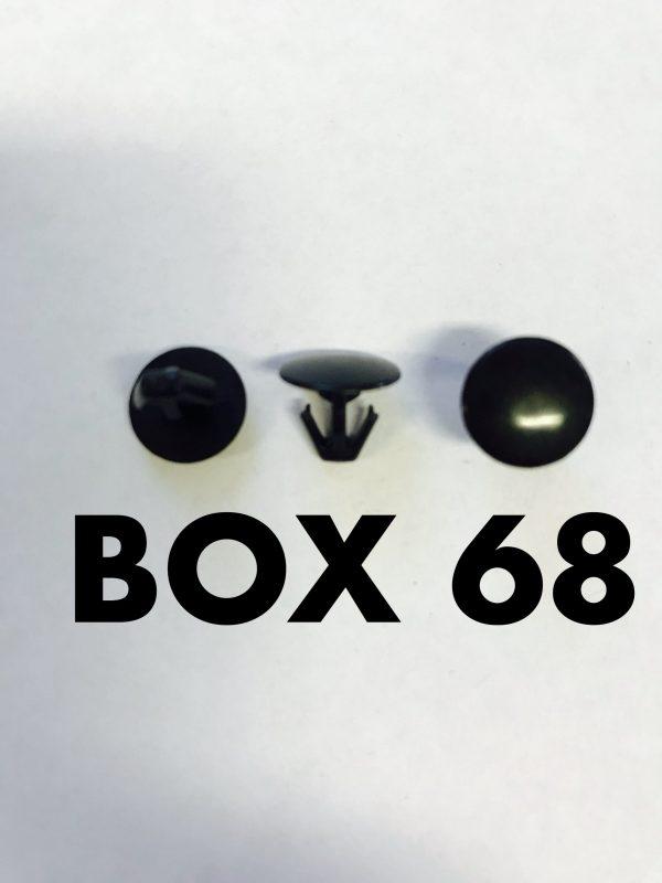 Carclips Box 68 10587