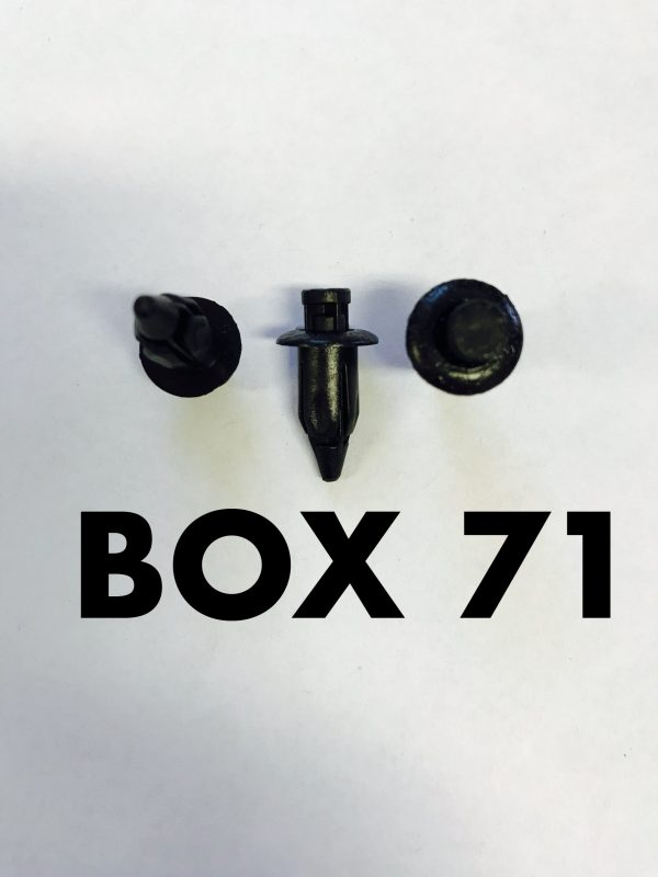 Carclips Box 71 10959 Long Pin Clip