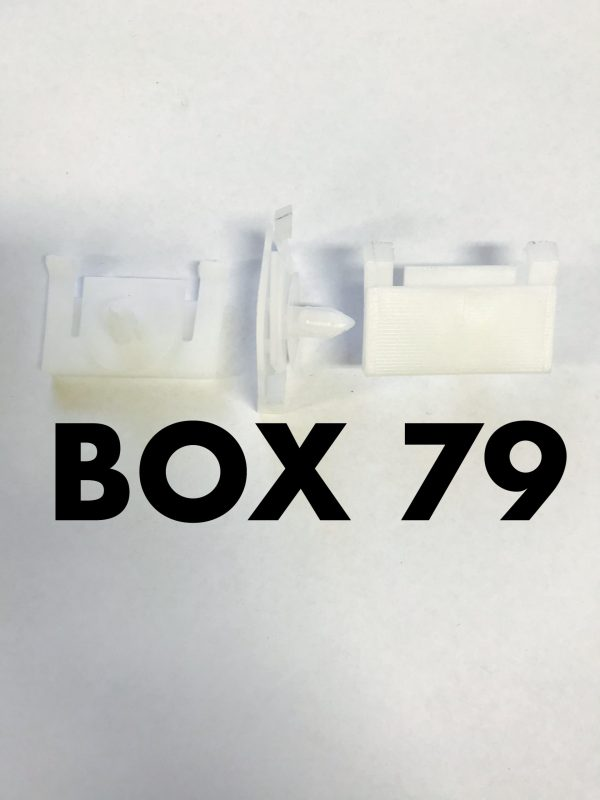 Carclips Box 79 D287 Holden Sill Clips