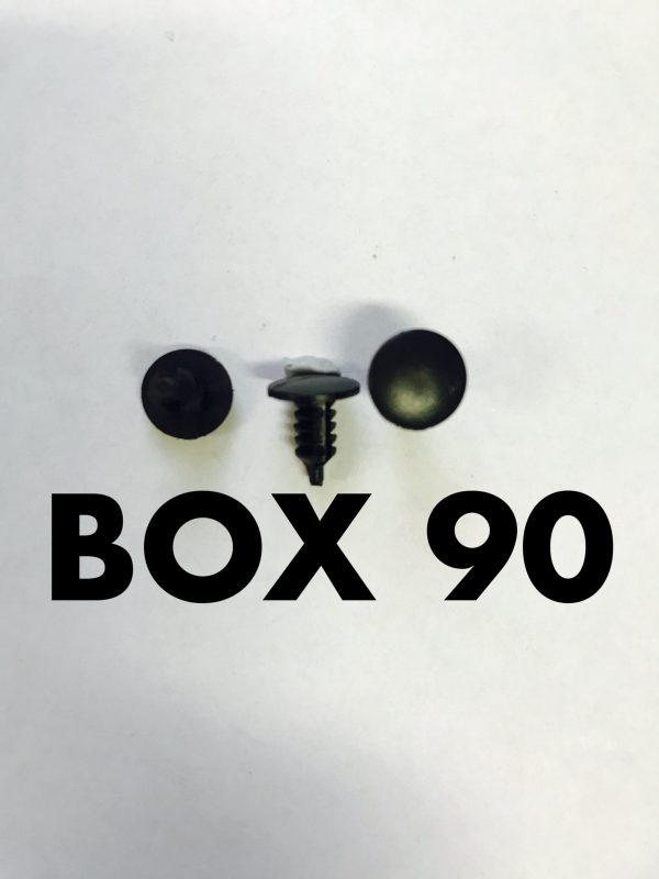 Carclips Box 90 10326 Trim Retainer