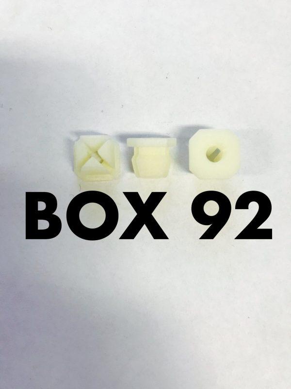 Carclips Box 92 10029 Screw Grommet