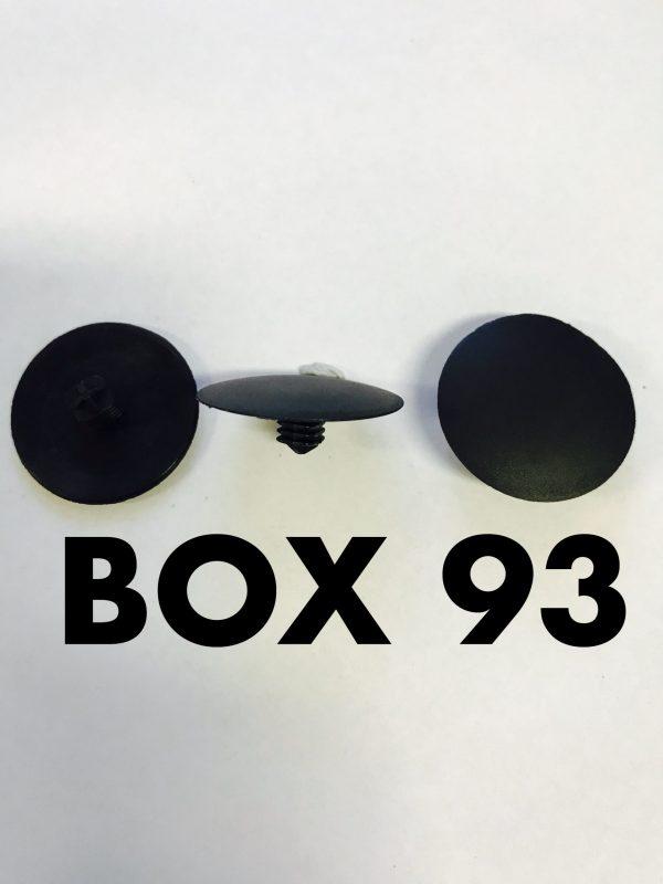 Carclips Box 93 10284 Pad Clip