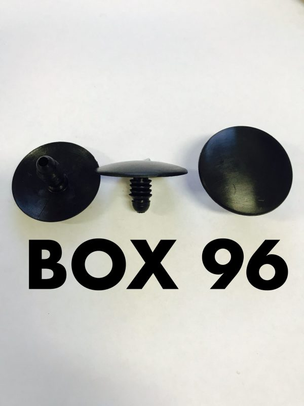 Carclips Box 96 10410 Pad Clip