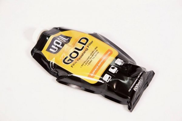 U-POL GOLD FINE FINISHING FILLER 600ML BAG