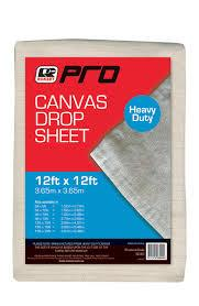 CANVAS DROP SHEET