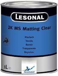 LESONAL 2K MATT CLEAR 1LT