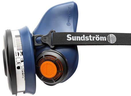 SUNDSTROM SR100 SILICONE HALF MASK