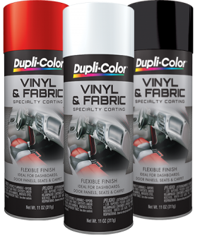 DUPLICOLOR VINYL AND FABRIC COATING AEROSOL