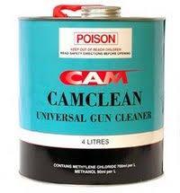 CAMCLEAN GUN CLEANER 4LT
