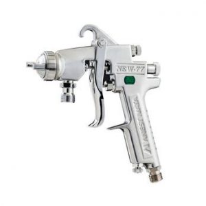 IWATA NEW W77 PRESSURE FEED GUN HEAD 1.2MM