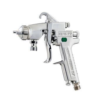 IWATA NEW W77 PRESSURE FEED GUN HEAD 1.2MM