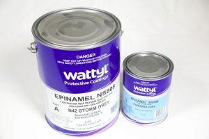 WATTYL EPINAMEL NS808 NON SKID EPOXY GREY 5LT PACK