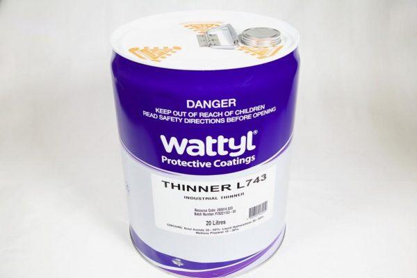 WATTYL THINNER L743 RETARDER 20LT