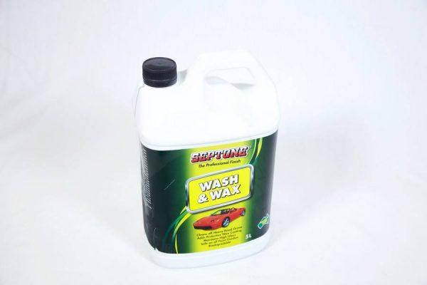 SEPTONE WASH N WAX 5LT
