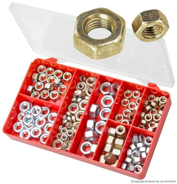 Fine Hex Nuts