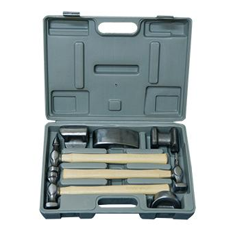 VELOCITY 7 PIECE PANEL BEATING KIT WITH HICKORY HANDLES